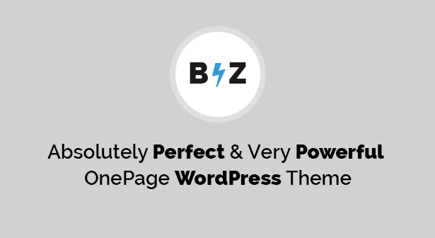 Biz Business WordPress Theme