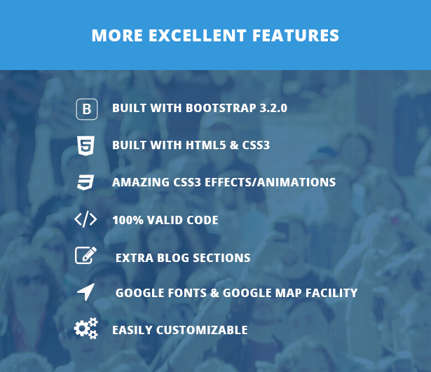 Short Feature  Biz - Business WordPress Theme