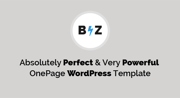 Welcome Biz Business WordPress Theme