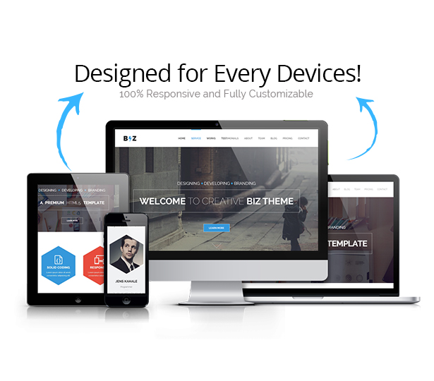 Biz Responsive WordPress Theme