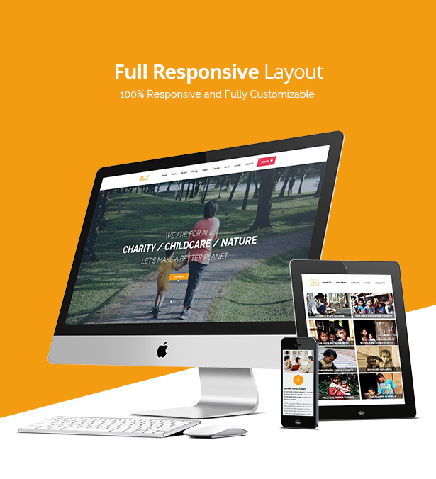 Feature of Heal WP Theme