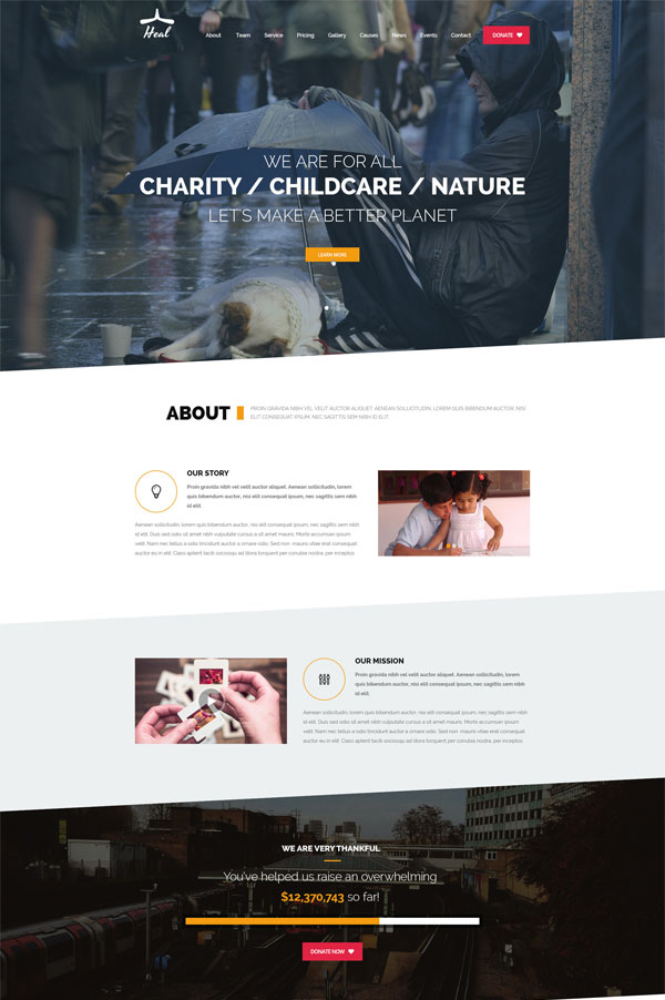demo-heal-charity-wordpress-theme