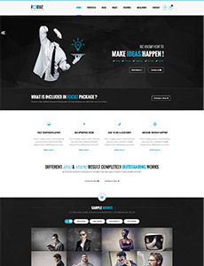Focuz – Multipurpose Business HTML5 Template