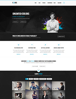 Focuz – Multipurpose WordPress Themes