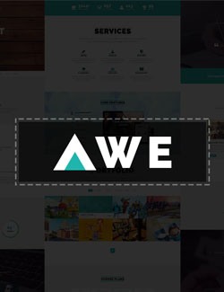 AWE Multi-Purpose One Page WordPress Theme