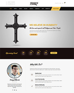 Peace – Church WordPress Theme