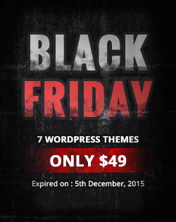 Black Friday Offer : 7 Theme Bundle Only $49