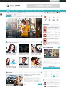 Daily News – Free Magazine WordPress Theme