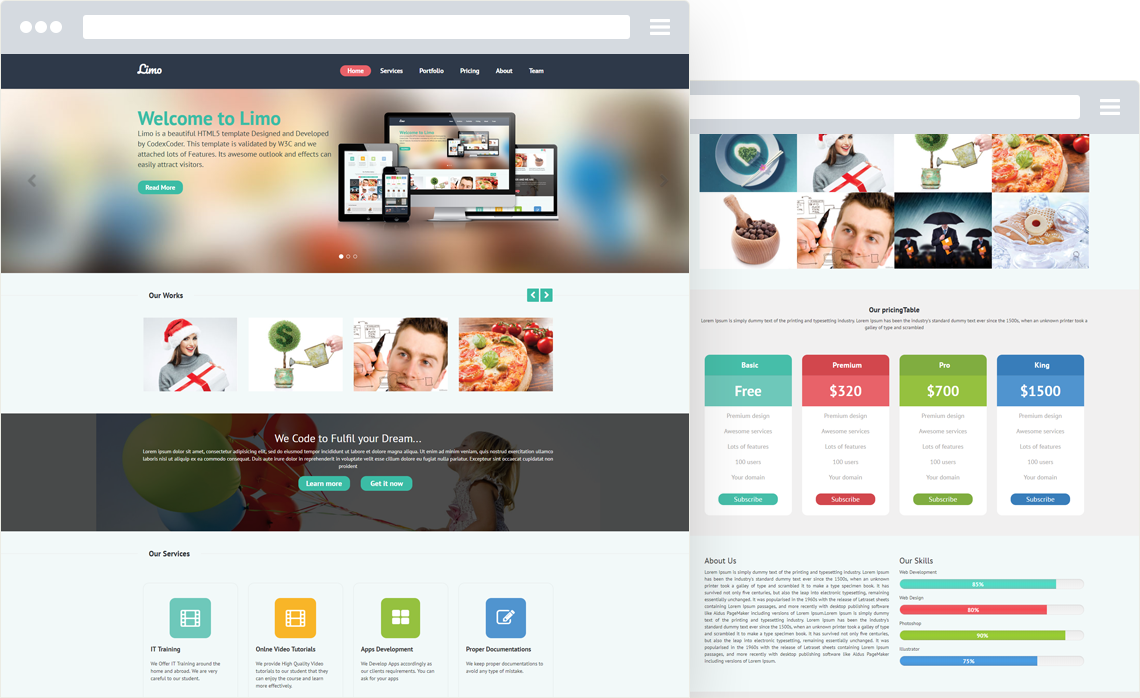 CCR Limo - Business WordPress Theme
