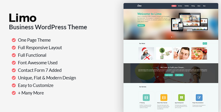 Download Limo - Free WordPress Theme - CodexCoder
