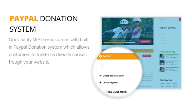 Paypal Donation System