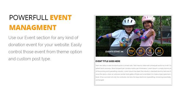 Powerfull Event Managment
