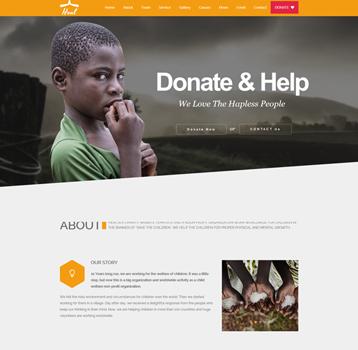 Heal - Charity WordPress Theme