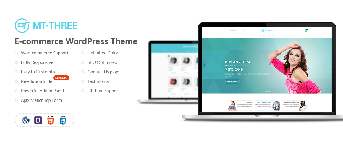 MT-3 — WooCommerce WordPress Theme