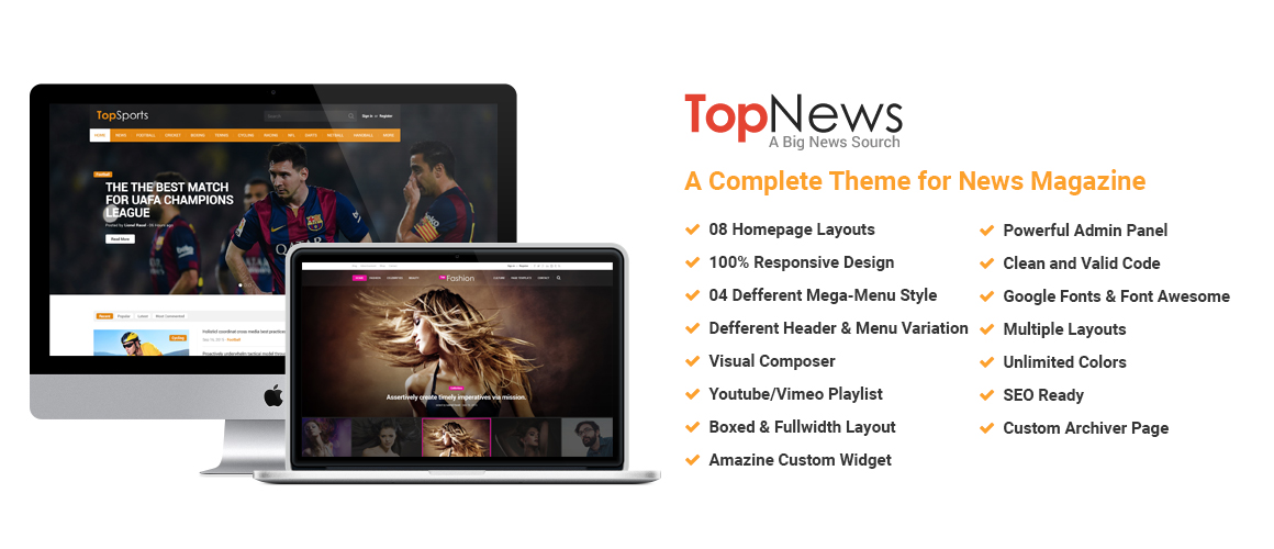 Top News – News/Magazine WordPress Theme