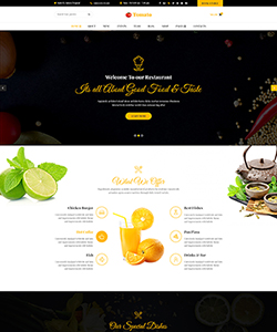 Tomato-Restaurant, Cafe, Bar and Food shop HTML Template