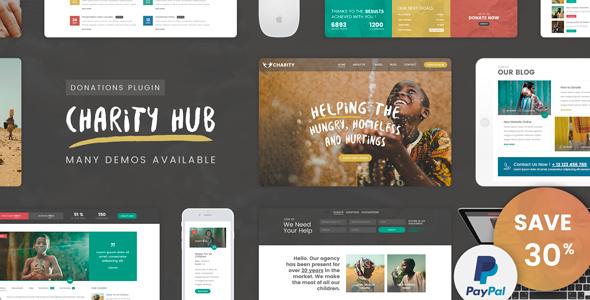 Best Non-Profit Charity WordPress Theme