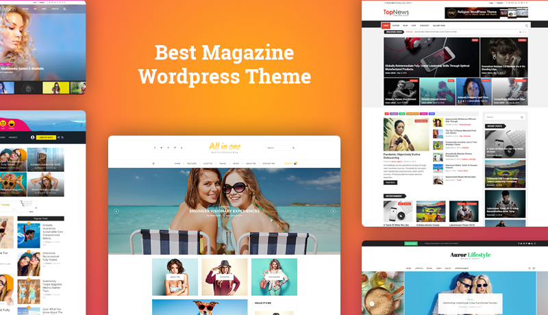 35 best magazine WordPress theme