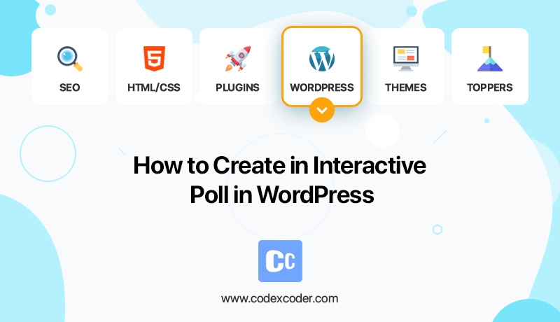 how to create an interactive poll in WordPress