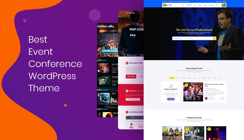 10 Best WordPress Themes for Event and Conference 2019 | CodexCoder