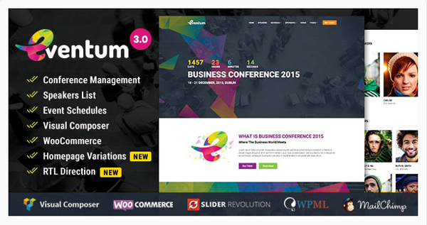 Best WordPress Theme for Event and Conference